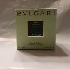 BVLGARI EAU PARFUMEE AU THE VERT EXTREME NATURAL SPRAY 1 oz/30 ml. 90% FULL