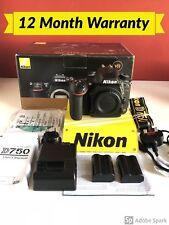 Nikon D d750 24.3 MP DSLR + condizione top! 8k clic WOW! 12 mese garanzia ***