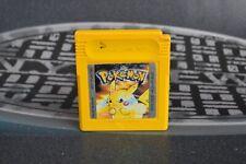 Pokémon Amarillo (Nintendo Game Boy GB 1998) Solo cartucho