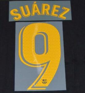 Official Barcelona Suarez 9 2018/19 Football Name/Number Set