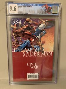 Amazing Spider-Man #534 CGC 9.6 Limited NY City Label