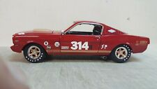 """Acme 1:18 1966 Shelby Ht350 - """"Rent A Racer"""" - Red W/ Stripe- A1801823"""