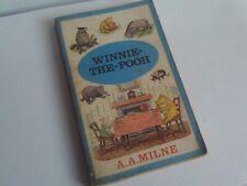 Winnie The Pooh - AA Milne - Methuen Paperback Book 1966 Illustrated Vintage