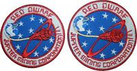 """Red Dwarf Jupiter Mining Corporation Badge Embroidered Patch 3.5"""" or 4"""""""