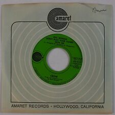 CROW: Evil Woman Don't Play Your Games With Me '69 Blues Rock AMARET 45 NM-
