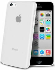 iphone 5C Housse Étui BLANC Extra Fin 0,3 mm