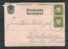 Bayern Drucksache Kartenbrief Gruss vom Linderhof - b4130