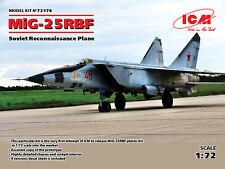 ICM 1/72 Mikoyan MiG-25RBF Soviet Reconnaissance Plane # 72174