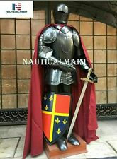 X-Mas Armour Medieval Wearable Knight Crusader Full Suit Of Armor Collectib