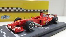 BBR Model 1/43 F1 Ferrari F2004 #1 Gp Ungheria Winner M. Schumacher 2004 BG278
