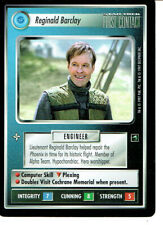 STAR TREK CCG FIRST CONTACT RARE CARD REGINALD BARCLAY