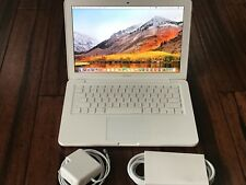 "Apple MacBook white 13"" MC516LL/A/ New1TB HDD/ 8GB Ram /2.4GHz/MacOS High Sierra"