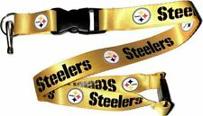 Pittsburgh Steelers Lanyard Breakaway Key chain Officially licensed NFL Lanyard