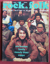 ROCK AND FOLK N° 49 FEVRIER 1971  ERIC BURDON