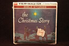"The Christmas Story Viewmaster 1960's Factory Sealed ""Bible Stories"""