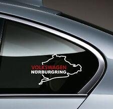 VOLKSWAGEN NURBURGRING GTI R Golf Eos Jetta Passat VW Decal sticker emblem logo