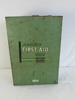 Large Vintage PACIFIC FIRST AID CASE KIT manufactured by E. D. Bullard Co. COOL