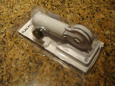 Flag Pole MOUNT HOLDER BRACKET WHITE NEW adjustable NIP      Ships to the world
