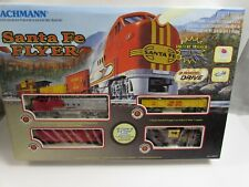 Vintage Bachmann Santa Fe Flyer HO Train Set Mint in Box