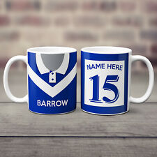 Personalised Rugby Shirt Mug Retro Cup Birthday Dad Him Fathers Day Gift RSM
