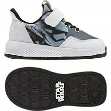 new ADIDAS kids STAR WARS EL Shoes sz 7K 23.5 toddler baby boy sneakers white
