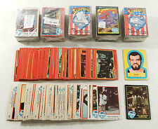 1978-1983 Topps Superman Trading Card Lot ^ Partial Sets & Singles