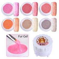 6 Farben/Set Harunouta Nagel Soak Off Fur Gel 5g Fur Effekt Maniküre 1-6 DIY