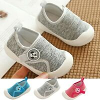 Toddler Baby Kid Boy Girl Pram Shoes Infant Prewalker Trainers Soft-Sole Sneaker