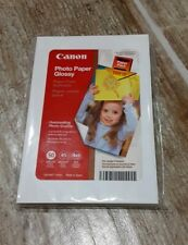 "Canon Photo Paper Glossy 4"" x 6"" - Pack of 50 Sheets"