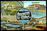 ⫸ 938 Linen Postcard Multi-View Atlantic City NJ – Not Posted