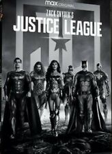 Zack Snyder Justice League 4h (1-Disc Set) Region Code 1, Brand New