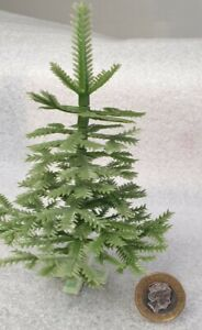 Vintage Mini Christmas Tree Plastic 1970s Antique 11cm