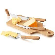 BOSKA Holland Stainless Steel Explore Cheese Slicer & Knife 4pc Set - Geneva