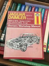 Haynes Jaguar / Daimler Xj & Xj6 Manual 68-79 Good Condition