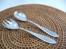 2 Piece WMF Germany SHADOWPOINT Stainless Salad Servers Spoon & Fork