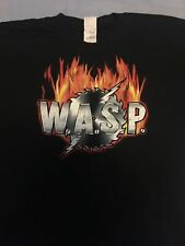Wasp TOUR CAMISA. Talla XL. Dominator Tour 2006-2007. muy Buen Estado.