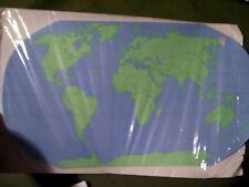 Shapes Etc. Practice Map Unlabeled World 30 sheets Se-1002