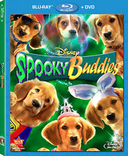 Disney Dog Halloween Movie Spooky Buddies Blu-ray DVD Combo Pack with Slipcover