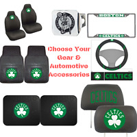 NBA - Boston Celtics Choose Your Gear Automotive Accessories Official Licensed