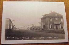 1908 Baldwin National Bank (foreground) Kahului Maui TH Hawaii Baker RPPC