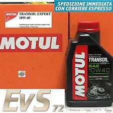 1L MOTUL Transoil Expert 10W40 Olio Trasmissione Cambio Moto Scooter Estere GL-4