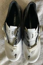 Specialized S-Works 6 Road Shoes EU 44 US Men's 10.6 White/Black