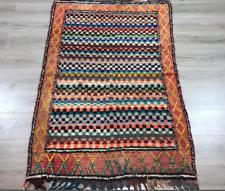 A lovely red berber rug; vintage
