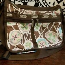 Le Sportsac Deluxe Everyday Bag Purse, Tropical Flower Print