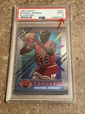 MICHAEL JORDAN 1994-95 TOPPS FINEST #331 W/ Coating PSA 9 MINT