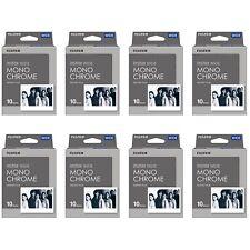 8 Packs 80 Instant Photos Monochrome FujiFilm Instax Wide Film Polaroid Camera