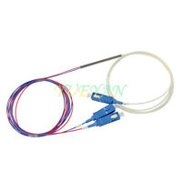 1 points 2 Taper Type SC/UPC Optic Fiber Splitter Spectral Ratio 30:70 ,5:95