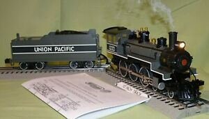 Williams Union Pacific UP 4-6-0 Baldwin Steam w/Whistle & Bell O/027 wks/ Lionel