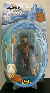 """Avatar the last airbender JET 6"""" action figure Water Series damaged box"""