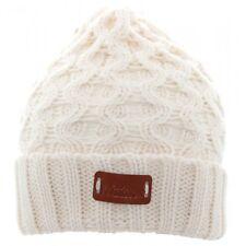 Aran tradizioni Da Donna Invernale da Uomo Outdoor Crema Beanie Hat Cap